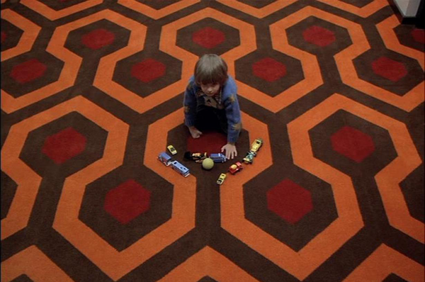 The Shining directed by Kubrick