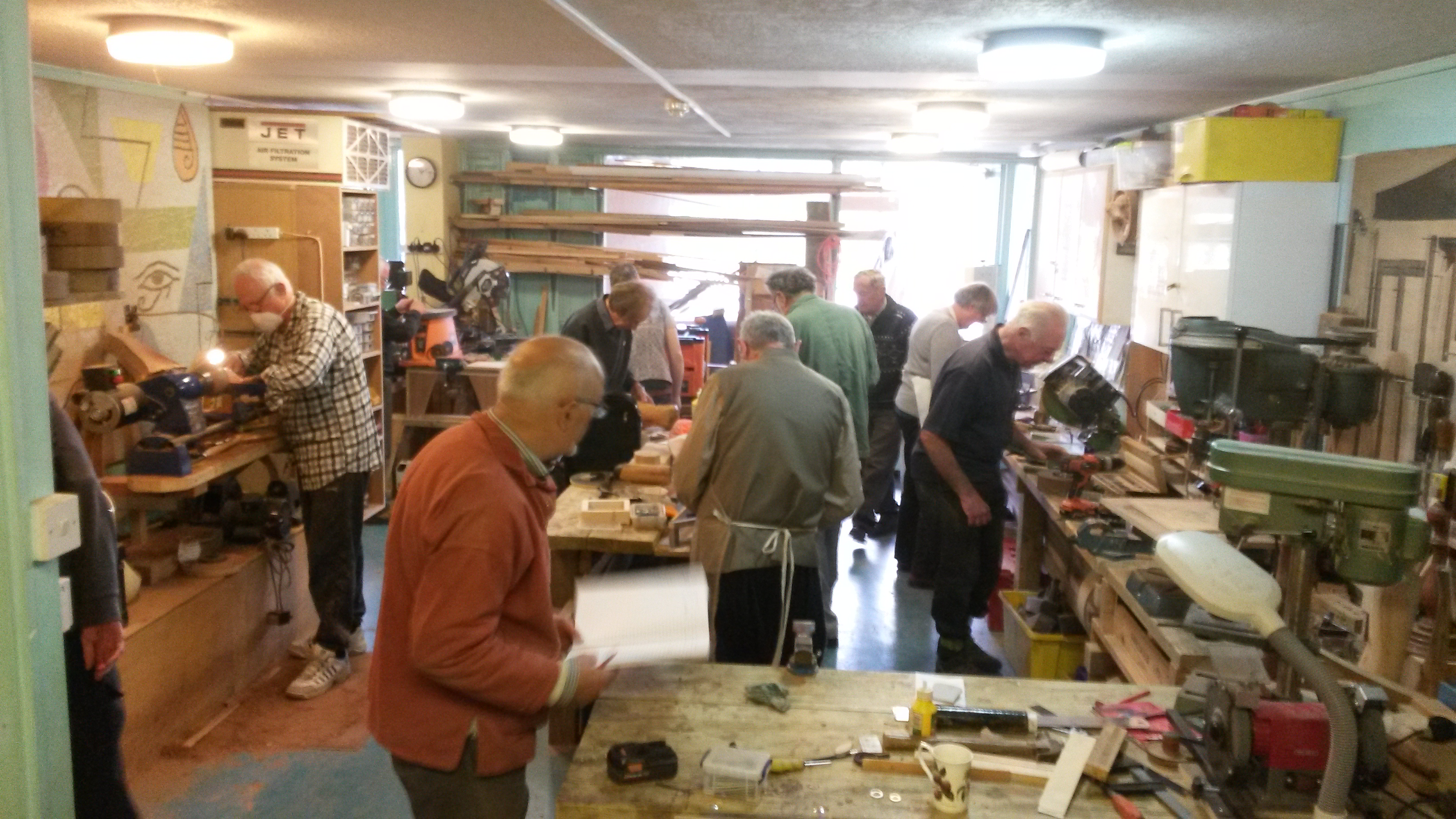 Camden Men's Shed workshop