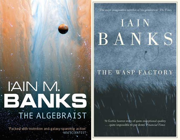 Iain Banks is Iain M Banks