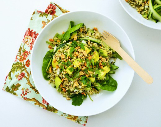 Green goddess lunch bowl