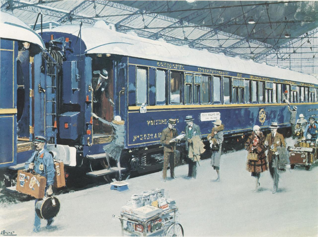 The Blue Train or Le Train Bleu Agatha Christie Poirot