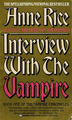 Anne Rice Interview with a Vampire