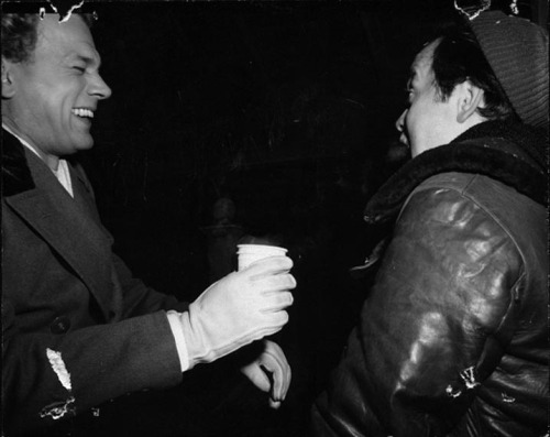 Orson Welles and Joe cotton