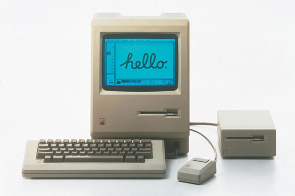 1980's Mackintosh computer