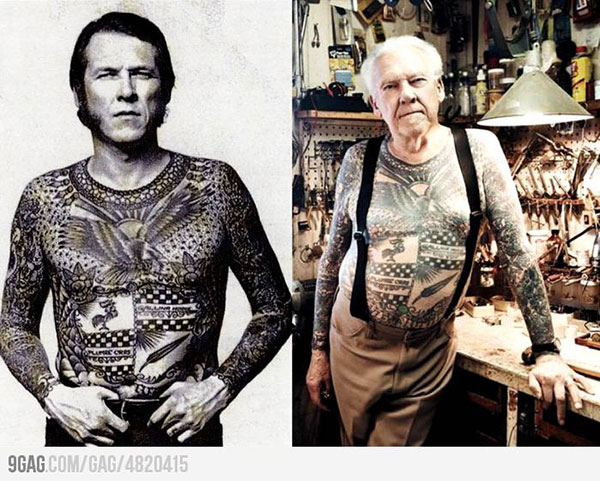Tattoos - then and now