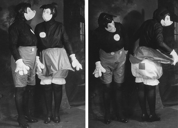 Creepy Vintage Mickey and Minnie 2