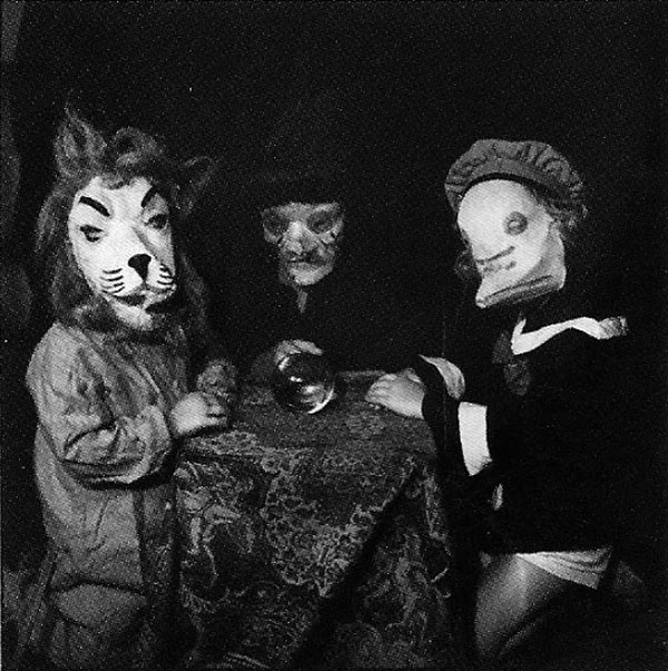 Creepy Vintage Halloween Animals