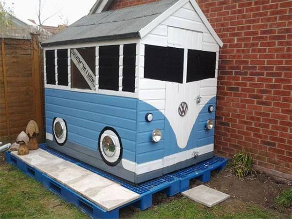 The VW Campershed