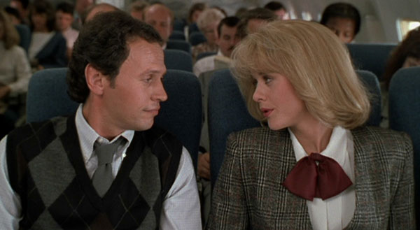 Harry and Sally on a plane