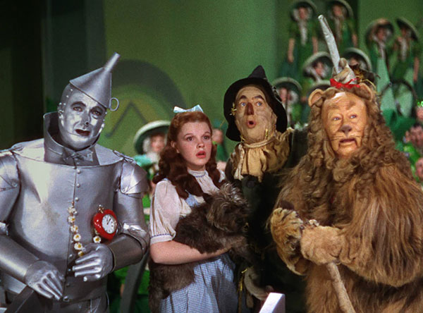 Surprised Wizard of Oz